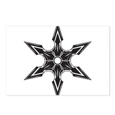 Ninja Star Postcards (Package of 8)