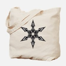 Ninja Star Tote Bag