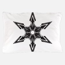 Ninja Star Pillow Case