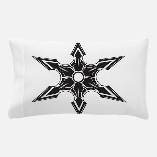 Ninja Star Pillow Case