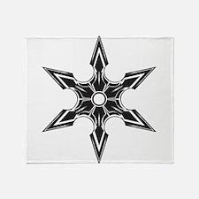 Ninja Star Throw Blanket