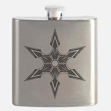 Ninja Star Flask