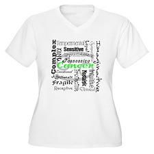 Cancer Plus Size T-Shirt