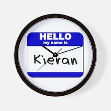 hello my name is kieran  Wall Clock