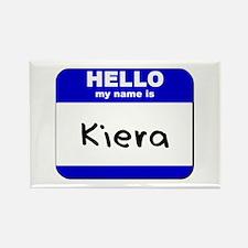 hello my name is kiera Rectangle Magnet