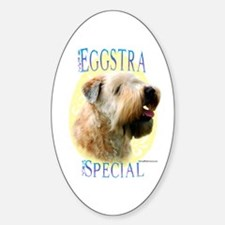 Eggstra Special Wheaten Oval Decal
