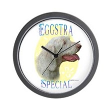 Eggstra Special Spinone Wall Clock