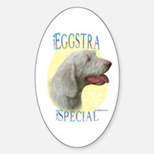 Eggstra Special Spinone Oval Decal