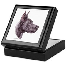 Blue Dane Keepsake Box