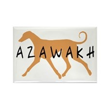 Azawakh Dog Rectangle Magnet (10 pack)