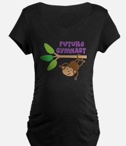 Future Gymnast Maternity T-Shirt