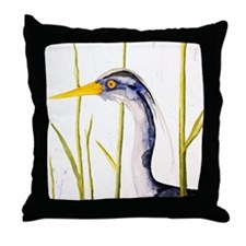 Heron Lover Throw Pillow