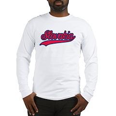 Retro Slovakia Long Sleeve T-Shirt