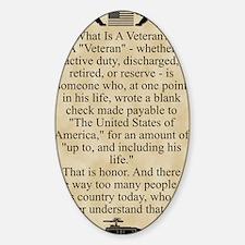 The Veteran Decal