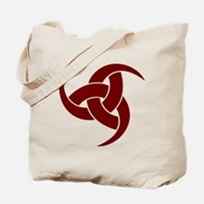 triple horn of odin Red Tote Bag
