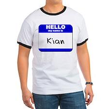 hello my name is kian T