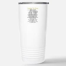 Gemini traits Travel Mug