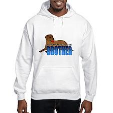 Chocolate Labrador Retriever Brother Hoodie