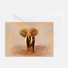 Painted Elephant Greeting Cards (Pk of 10)