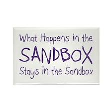 Sandbox Rectangle Magnet