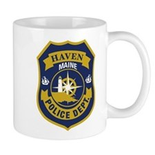 Haven PD Logo - Mugs