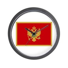 Cute Montenegro Wall Clock