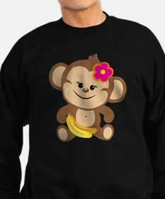 Girl Monkey Sweatshirt