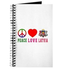Peace Love Latvia Journal