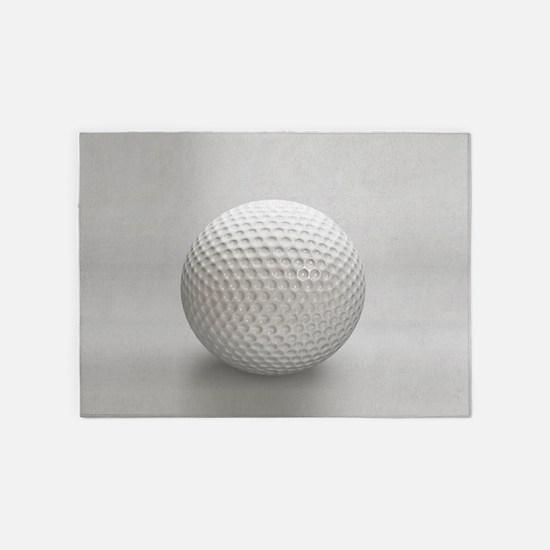 Golf Ball Sport 5'x7'Area Rug