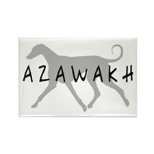Azawakh Dogs Rectangle Magnet