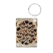 Poultry of the World Keychains