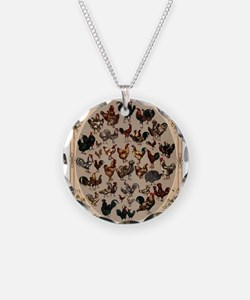 Poultry of the World Necklace