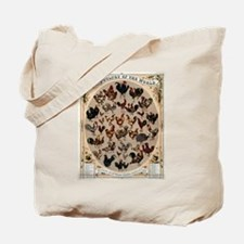 Poultry of the World Tote Bag