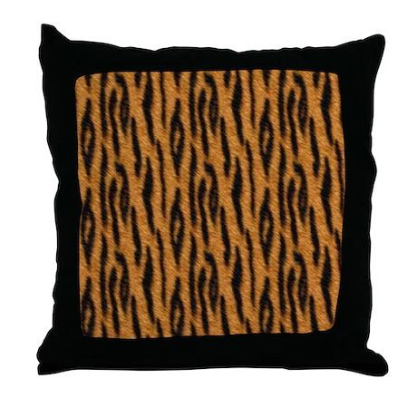 Bengal Tiger Throw Pillow