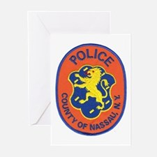 Nassau County Police Greeting Cards (Pk of 10)