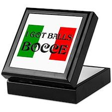 Bocce Keepsake Box