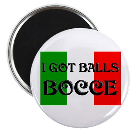 """Bocce 2.25"""" Magnet (100 pack)"""