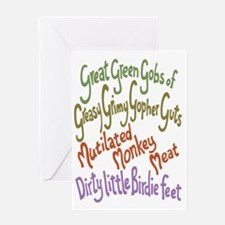 gopher-guts-LG-T Greeting Card