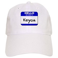hello my name is keyon Baseball Cap