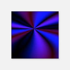 "Psychedelic 21 Square Sticker 3"" x 3"""