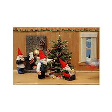 Holiday Gnome Decorators Magnets