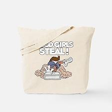 white Good Girls Tote Bag