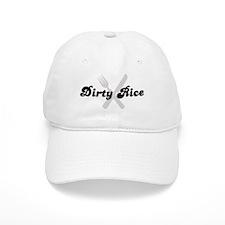 Dirty Rice (fork and knife) Baseball Cap
