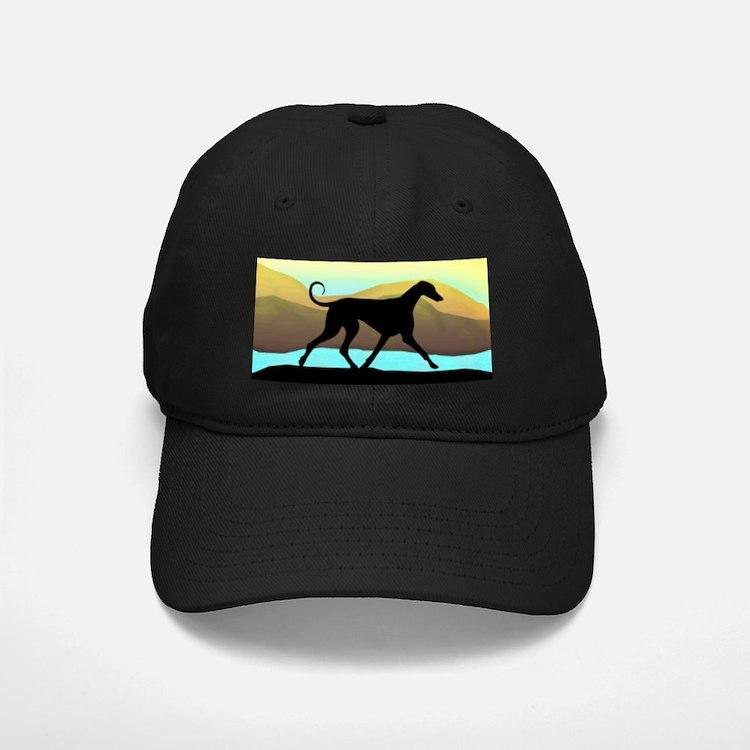 Azawakh Seaside Baseball Hat