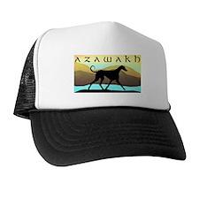 Azawakh Seaside Trucker Hat