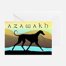 Azawakh Seaside Greeting Cards (Pk of 10)