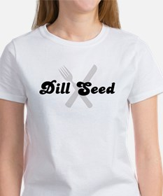 Dill Seed (fork and knife) Tee