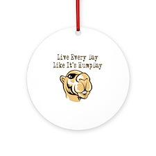 Hump Day - Lght Round Ornament