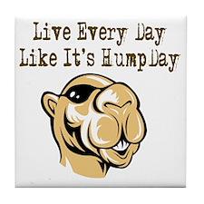 Hump Day - Lght Tile Coaster