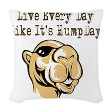 Hump Day - Lght Woven Throw Pillow